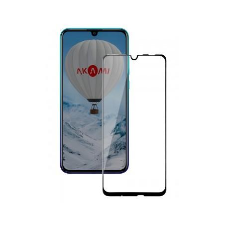 P Smart 2019 - Honor 10 lite Verre trempé full glue 2.5D protection écran transparent AKAMI