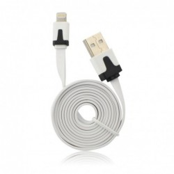 CABLE USB PLAT APPLE IPHONE...