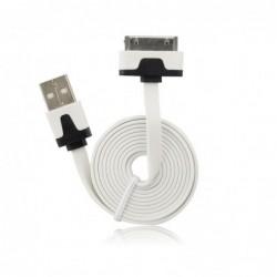 CÂBLE USB PLAT pour iPhone...