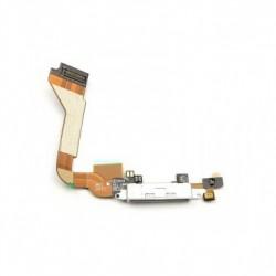 Connecteur de charge iPhone 4 Blanc-gsmprogsm
