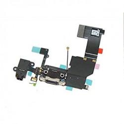 Connecteur de charge iPhone 5 S Noir-gsmprogsm
