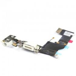 Connecteur de charge iPhone 5S Blanc-GSMPROGSM