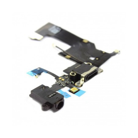 Connecteur de charge iPhone 5S Noir