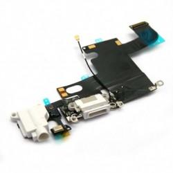 Connecteur de charge iPhone 6 Blanc-gsmprogsm