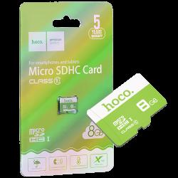 Carte mémoire micro SD 8GB...