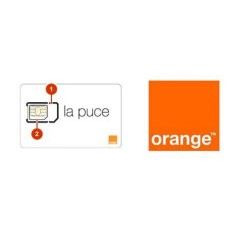 CARTE SIM ORANGE AVEC 5€ DE...