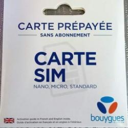 Carte SIM bouygues telecom...