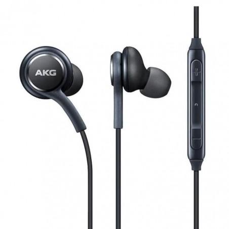 Ecouteurs Samsung IG955 Noir Kit main libre + Télécommande - Câble anti nœud - AKG - EO IG955- 14744A