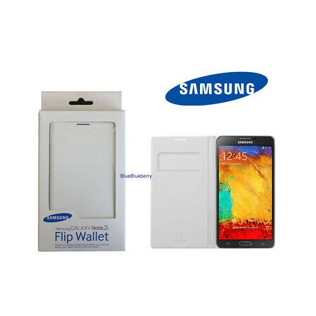 housse note 3 samsung Original Étui Cover Galaxy Note 3 N9005 blanc 100% neuf