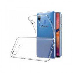 Samsung A20 housse silicone...
