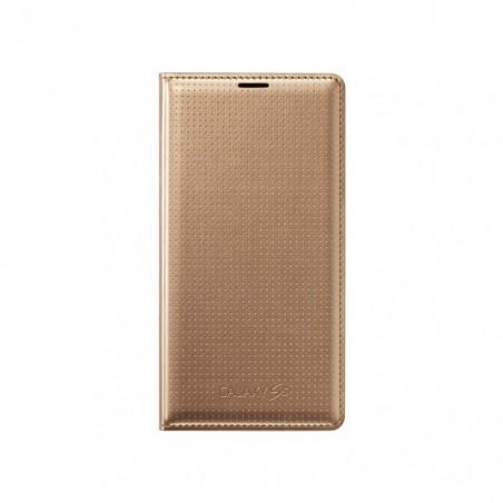 Samsung S5 Etui Flip Wallet Original EF-WG900BH Galaxy S5 gold / or